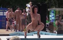 Filthy naked festival