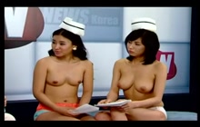 Naked korean talk performance